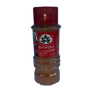 Pimienta roja en polvo Felfel 120g 1&1