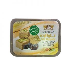 Halva con pistacho y sirope de dátiles 100g SHIRREZA